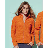 Active Melange Fleece Jacket Women