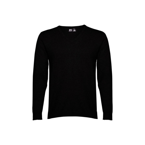 THC MILAN. Men's V-neck jumper