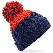 Apres Beanie, Oxford Navy/Fire Red, ONE, Beechfield