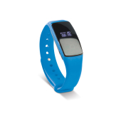 Activity tracker hartslag blauw