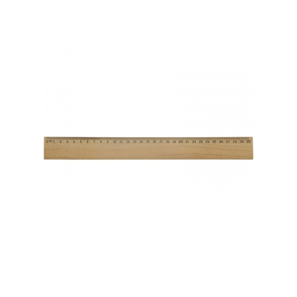 Ruler wood 30cm