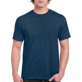 Gildan T-shirt Ultra Cotton SS Heather Navy L