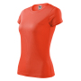 Fantasy T-shirt Ladies neon orange 2XL