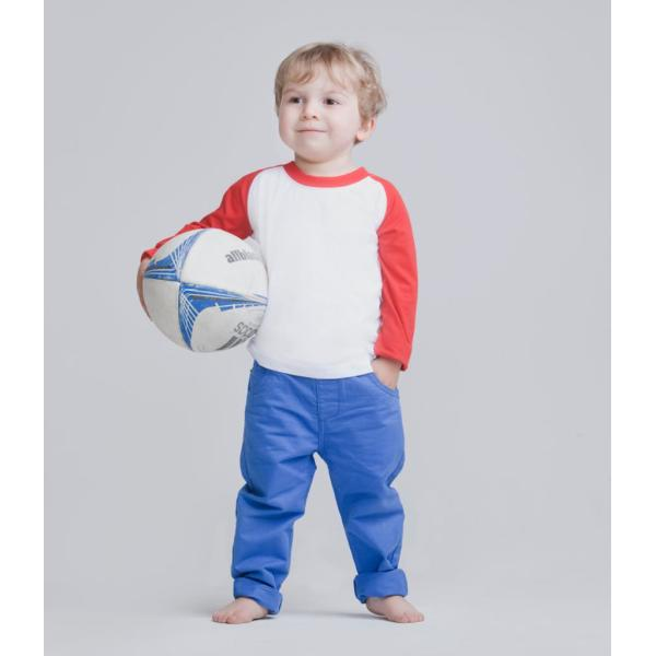 Baby/Toddler Long Sleeve Baseball T-Shirt
