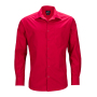 Men's Business Shirt Longsleeve rood