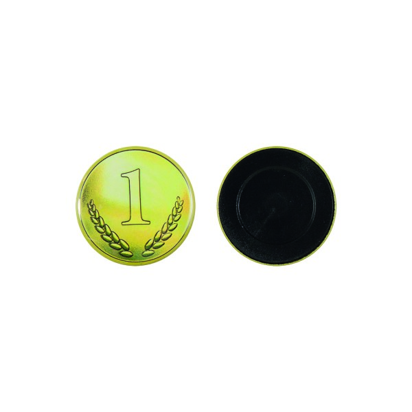 Flatback button 50 mm
