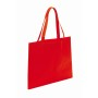 "Non-woven shopping bag""Market"",red"