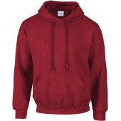 Heavy blend™ classic fit adult hooded sweatshirt antique cherry red xxl
