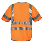 Projob 6707 VEST HV CL.3 ORANGE L/XL
