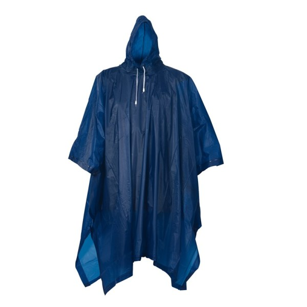 Bicycle Poncho, blue