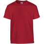 Heavy cotton™classic fit youth t-shirt cardinal red (x72) '5/6 (s)