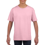 Gildan T-shirt SoftStyle SS for kids Light Pink XS