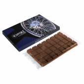 Chocolade tablet in doosje