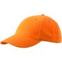 6 Panel Cap Low-Profile oranje