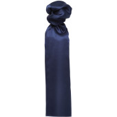 'colours' plain business scarf navy one size