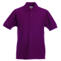 Kids 65/35 Polo, Burgundy, 14-15jr, FOL