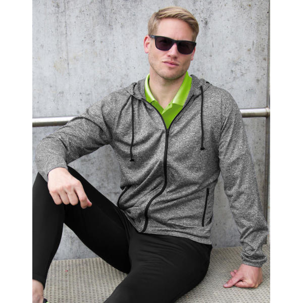 Men's Hooded Tee-Jacket