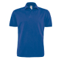 Polo Heavymill / Unisex S Royal Blue