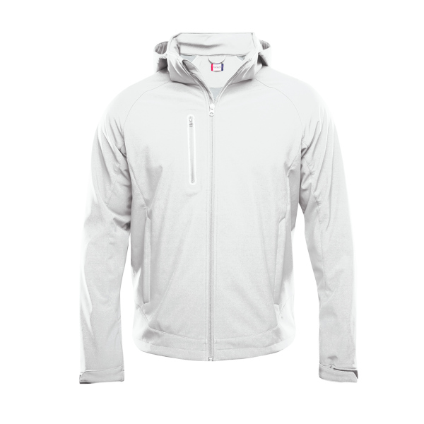 Bedrukte Softshell Jacket
