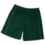 Basic Team Shorts Junior groen/wit