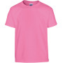 Heavy cotton™classic fit youth t-shirt azalea '5/6 (s)