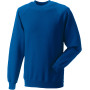 Classic crew neck sweatshirt bright royal 4xl
