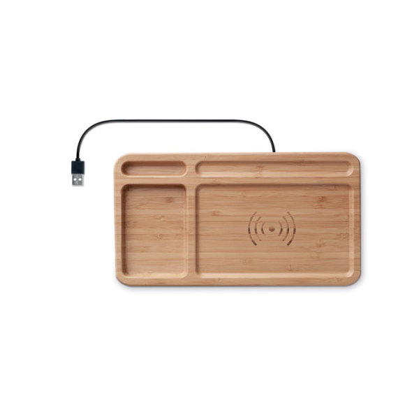 CLEANDESK - Storage box wireless charger