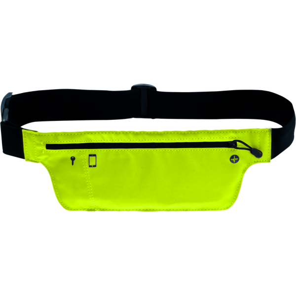 neon waist bag for leisure, travel and sport