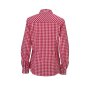 Ladies' Checked Blouse rood/wit