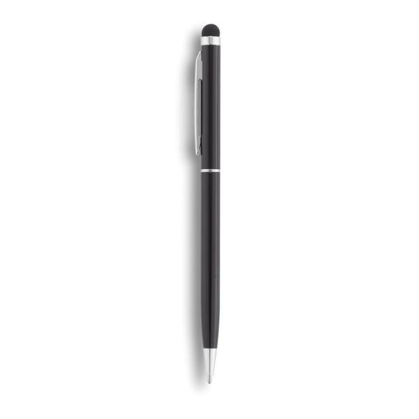 Aluminium touchscreen pen, wit