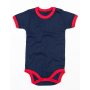 Baby Ringer Rompertje 12-18 Monate Nautical Navy/Red