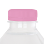 Ronde waterfles 500 ml met platte dop