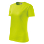 Classic New T-shirt Ladies lime punch XS