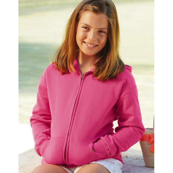 Kids Classic Hooded Sweat Jacket