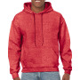 Gildan Sweater Hooded HeavyBlend for him heath sp scarlet red XL
