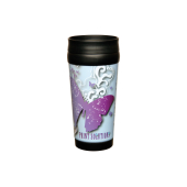 Robusta Photo TravelMug zilver