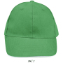 Buffalo, Kelly Green/White, One size, Sol's
