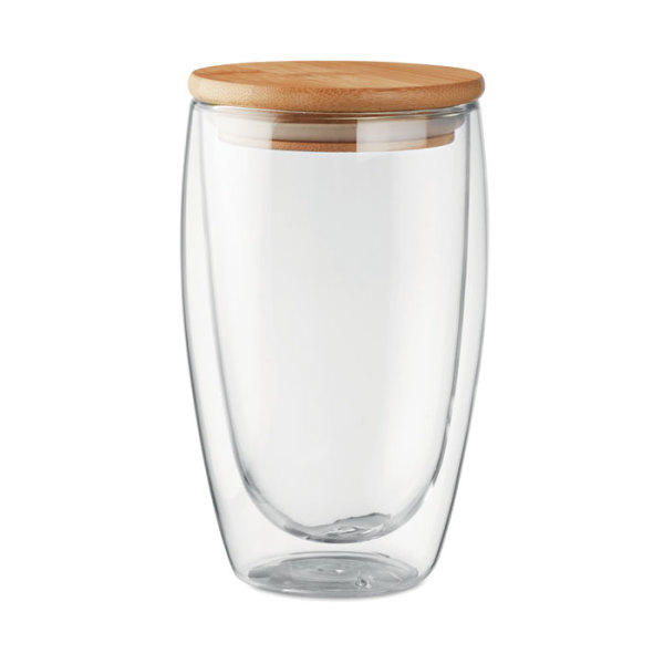 TIRANA LARGE - Dubbelwandig drinkglas 450ml
