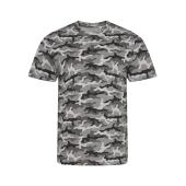 AWDis Camo T-Shirt, Grey Camo, XXL, Just Ts