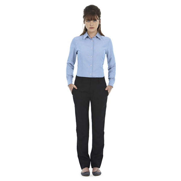 Ladies' Oxford Shirt - SWO03