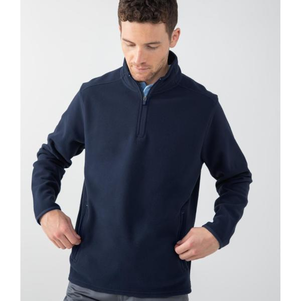 Zip Neck Micro Fleece