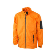 Men's Windbreaker - oranje/carbon