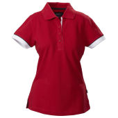 Harvest Antreville Ladies Pique Red XXL