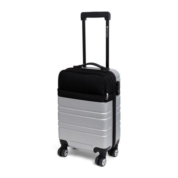 Norländer TwoWay Trolley (Softpocket) Silver/Black