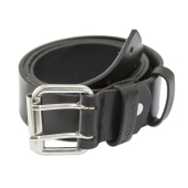 Jobman 9306 Leather belt zwart 120 cm
