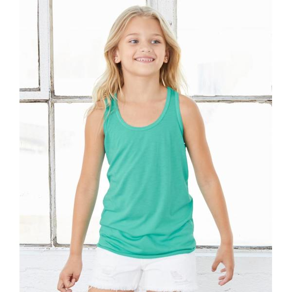Bella Youths Flowy Racer Back Tank Top