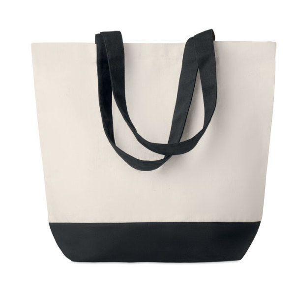 KLEUREN BAG - Canvas strandtas 170 g/m²