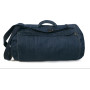Dnm feeling good duffle bag deep blue denim one size
