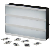 Cinema A5 decoratieve lightbox - Wit