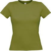 B&c women-only t-shirt green moss xs